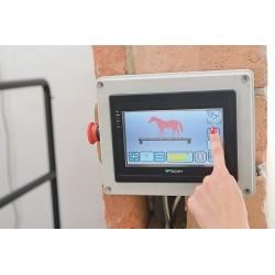panel płyty wibrującej dla konia