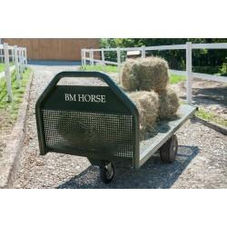 wózek do transportu siana dla koni