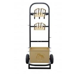 wózek na siodła