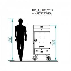 wysokość szafki jeździeckiej rc1 lux