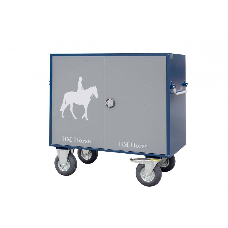 stalowa paka na sprzęt jeździecki